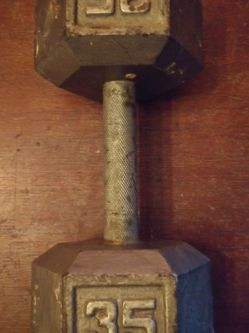 35lb Dumb Bell for Sale in Anaheim,  CA