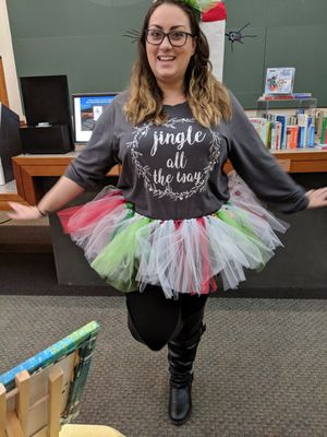 Christmas Ugly sweater tutu & mini top hat for Sale in Rancho Cucamonga, CA