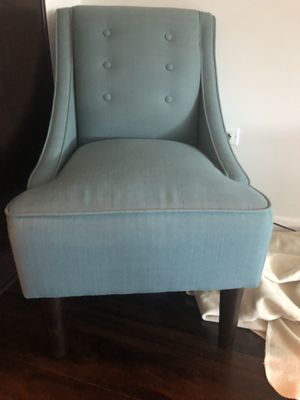Teal Blue Chair for Sale in Chicago, IL