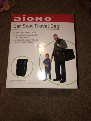 Diono car seat travel bag for Sale in Port Orchard, WA