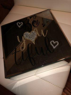 glass jewelry box for Sale in Santa Ana, CA