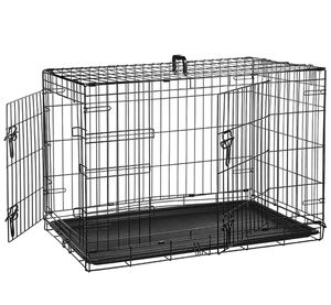 """36"""" Double-Door Folding Metal Dog Crate for Sale in Seattle, WA"""