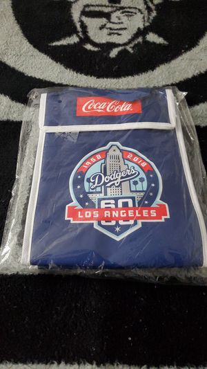 Los Angeles Dodgers Game Day Giveaway 60 Years Anniversary Lunche bag (New) for Sale in Azusa, CA