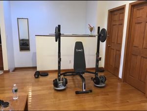 Weight Bench/Rack , Weight Plates, Barbell, Curl Bar, Dumbbell Weights for Sale in Brooklyn, NY