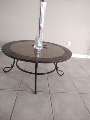 Cherry wood Round coffee table for Sale for sale  Marietta, GA