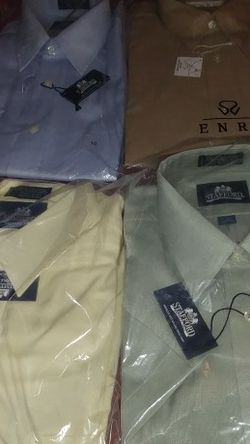 """7 New Men's Large 16"""" Shirts Only $70 for Sale in Irwin,  PA"""
