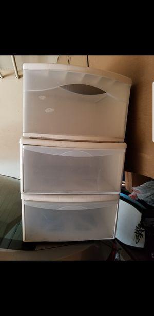 Plastic drawers for Sale in Orange, CA