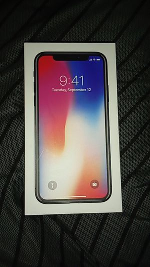 iPhone X 64GB Sprint for Sale in Denver, CO