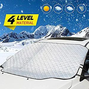 UBEGOOD Windshield Snow Cover, Car Ice Snow Frost Cover Visor Protector with Magnet, All Weather Auto Front Windscreen Sun Shade Guard Covers for Sale in Altamonte Springs, FL