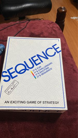 Sequence board game for Sale in Raleigh, NC