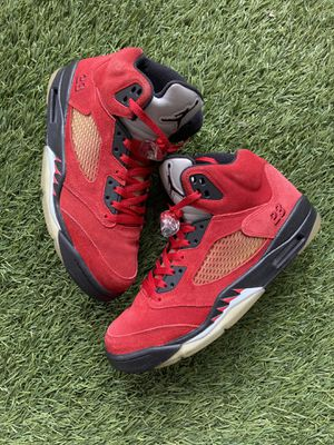 Nike Air Jordan 5 V Retro DMP Raging Bull Red Suede SZ 10.5 for Sale in San Diego, CA