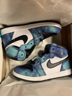 Air Jordan Retro 1 Tie Dye size 9C for Sale in Austin, TX