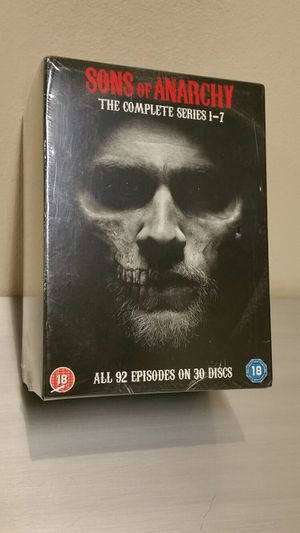 """SONS of ANARCHY"" - NEW!! - COMPLETE SERIES on DVD (Region 2) for Sale in Arlington, VA"