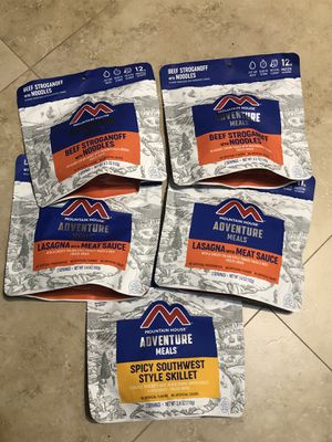 5x Mountain House Gluten Free Survival Food exp 1/2050 for Sale in Hollywood, FL