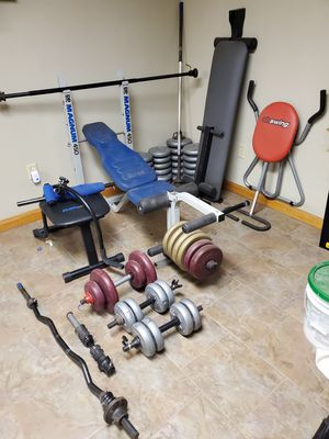 Weight bench and more for Sale in York Haven, PA