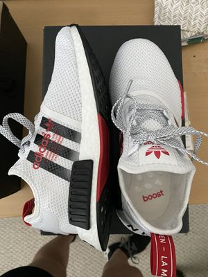 Adidas NMD, Red/White, Size 6 (Big Kids) for Sale in Tucker, GA