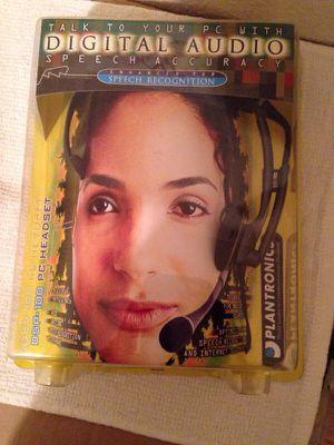 Plantronics DSP Digitally Enhanced speech Recognition PC Headset for Sale in Bradenton, FL