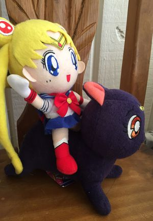 Sailor Moon plush collectables for Sale in San Diego, CA