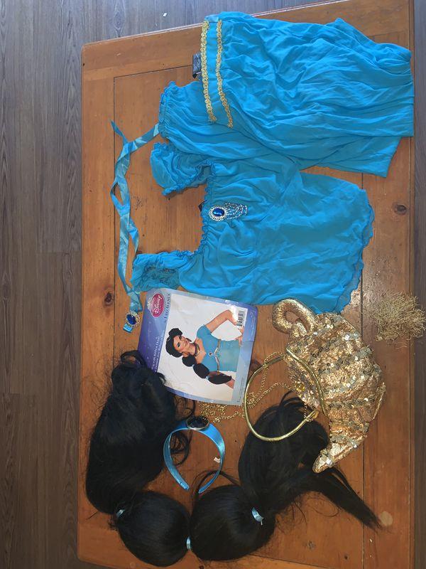 Full set Princess Jasmine Halloween costume