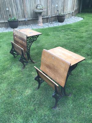 Antique school desks for Sale in Puyallup, WA