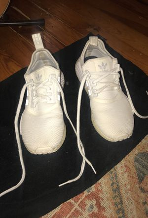 All white adidas NMD size 9.5 for Sale in Nashville, TN