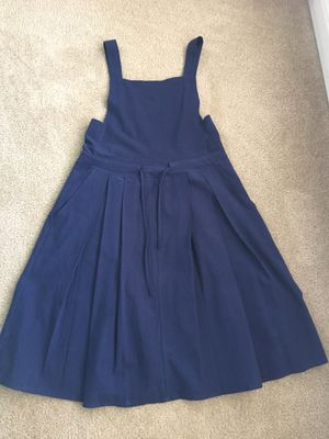 Deep blue overall dress $20 Cash for Sale in Sunnyvale, CA