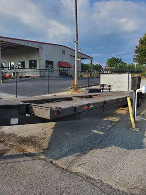 2002 34ft bumper pull 2 car trailer for Sale in Suwanee, GA