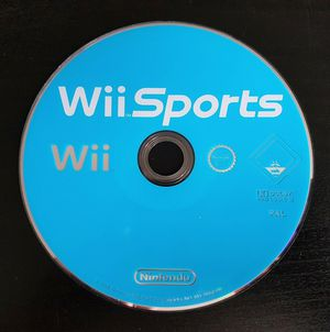 Wii Sports for Nintendo Wii and Wii U, Lots of Games on One Disk! for Sale in West New York, NJ