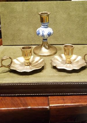 Solid Brass Candle Operas for Sale in Mechanicsburg, PA