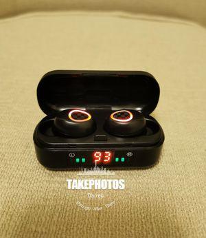 (B4)Bluetooth True Wireless Earphone 5.0 Earbuds Waterproof Music Headset for Sale in Rowland Heights, CA