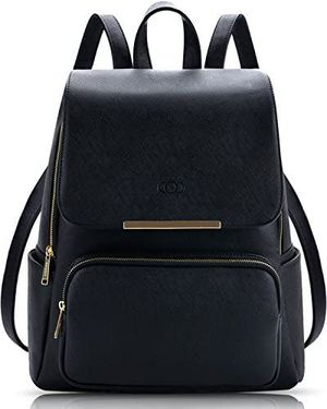 PU Leather Backpack, Black Backpack Purse for Women, Fashion Anti-theft Ladies Rucksack for Sale in Katy, TX