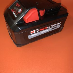 Milwaukee M18 High Output Xc6.0 Battery $75 Price Is Firm for Sale in Bellevue, WA
