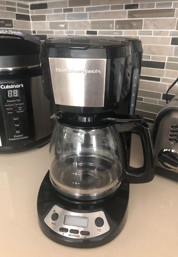 Halmilton beach coffee maker programable
