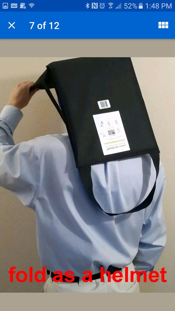 Bullet/stab proof backpack insert