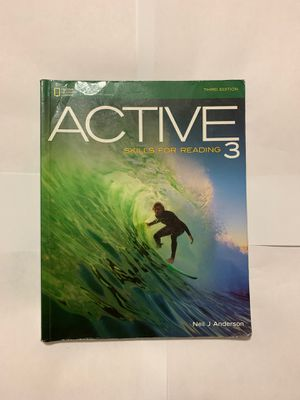 Active Skills for Reading 3 (third edition ) for Sale in Miami Gardens, FL
