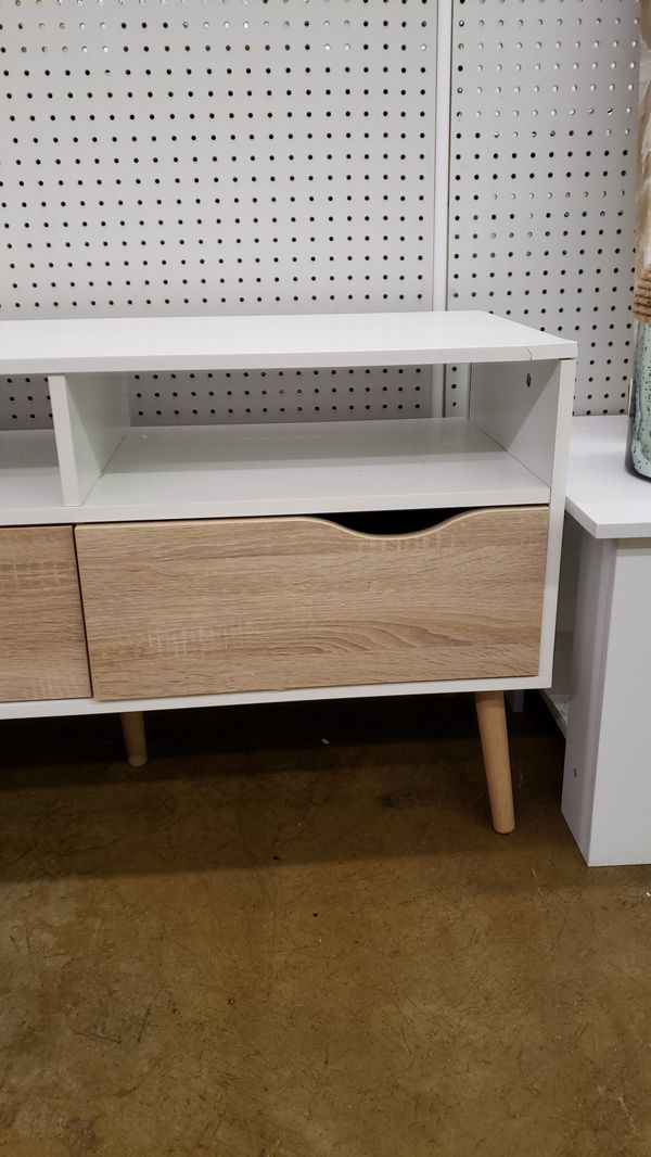 Tvilum TV stand with 2 drawers