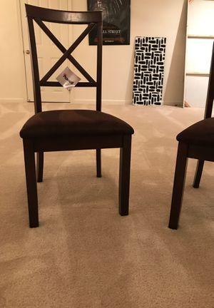 4 dining room Chairs brand new two in the box for Sale in North Potomac, MD