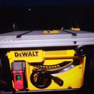 DeWalt Table Saw Dwe7485 for Sale in Tacoma, WA