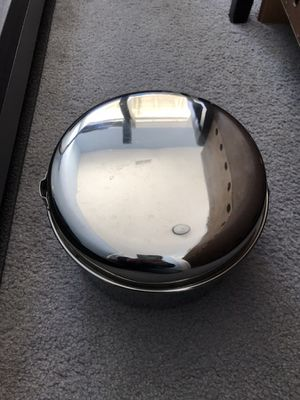 Stackable camping pots and lids (stainless steel) for Sale in Byron Center, MI