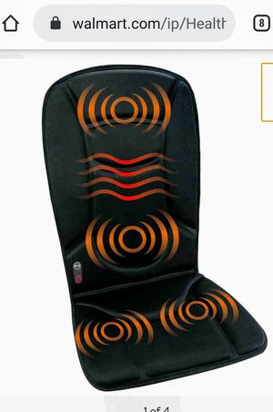 Health Touch Massage Seat Topper with Soothing Heat for Sale in Naples, FL