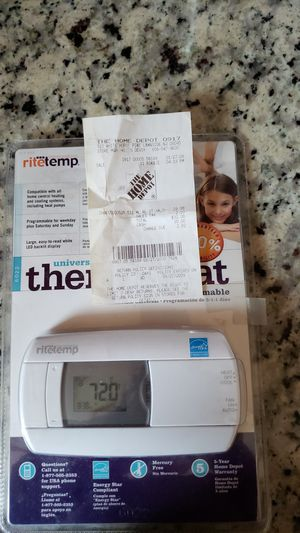 Programmable thermostat brand new for Sale in Somerdale, NJ