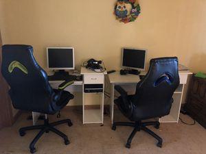 Kids desks, gaming chairs, headphones, and desktop computers for Sale in Kent, WA