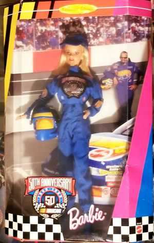 Barbie NASCAR 50th anniversary 1948-1998 Mattel #20442 for Sale in Deltona, FL