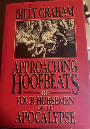 HARDBACK BOOK -APPROACHING HOOFBEATS -BILLY GRAHAM for Sale in Melbourne, FL