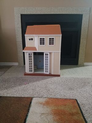 Doll house with some stuff for Sale in Dallas, TX