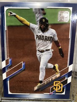 2021 Topps Series 1 Fernando Tatis Jr. Royal Blue Parallel #1 San Diego Padres for Sale in Corona,  CA