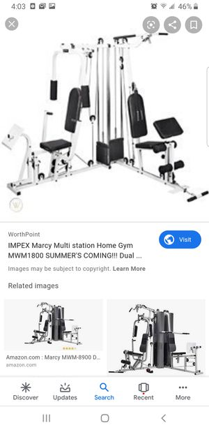 Impex Marcy multi station home gym for Sale in Bridgeton, MO