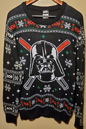 STAR WARS Holiday Sweater Men's Size Large for Sale in Downey, CA