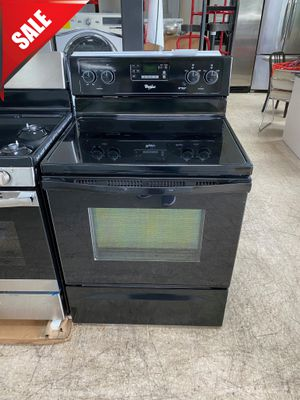 🌟🌟Glass Top Electric Stove Oven Whirlpool Black #1071🌟🌟 for Sale in Belle Isle, FL