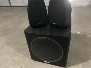 Polk Audio Speakers and Subwoofer for Sale in Gilbert, AZ